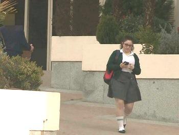 Anais solo tiene 18 años, estudia en insti de monjas y es la nena mala de la clase. NUEVO ESCÁNDALO.